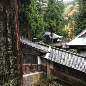 Eihei-ji Treppen Korridor Außen