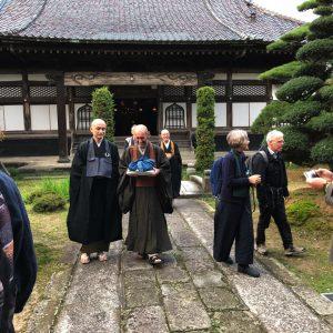 Bun'ei ist heute Abt in JoKo-ji.