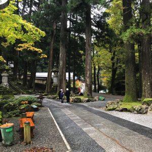 Eihei-ji Garten Außenanlage
