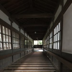 Eihei-ji Treppen Korridor Innen