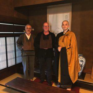JoKo-ji mit Manfred, HoKai & Bun'ei Otokawa (v.l. n.r.)